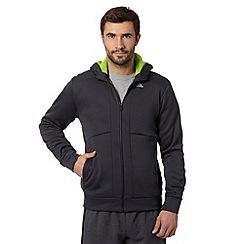 adidas - Grey zip pocket hoodie