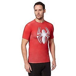 Under Armour - Red 'Spider-Man' gym t-shirt