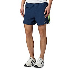 adidas - Blue elasticated running shorts