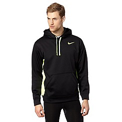 Nike - Black neon panel hoodie