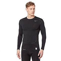 Nike - Black 'Dri-FIT' compression top