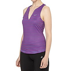 Nike - Purple striped tank top