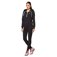 Nike - Black warm up tracksuit