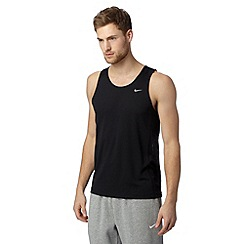 Nike - Black 'Dri-FIT' sports vest