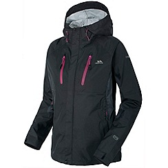 Trespass - Black 'Madden' Outdoor Jacket