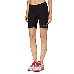 Nike - Black tight fitness shorts