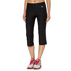 Nike - Black slim capri pants