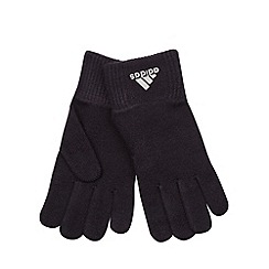 adidas - Black knitted gloves