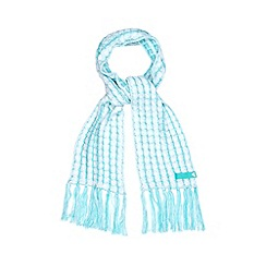 adidas - White cable knitted scarf