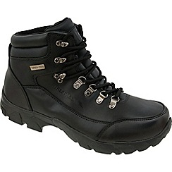 Trespass - Black Bergenz Outdoor Boot