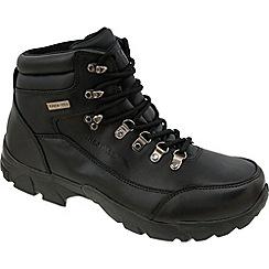 Trespass - Black Bergenz Outdoor Boot