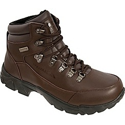 Trespass - Brown Bergenz Outdoor Boot