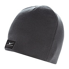 Nike - Dark grey reversible knitted beanie