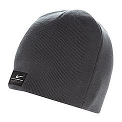 Nike - Dark grey reversible knitted beanie