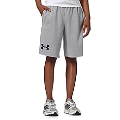 Under Armour - Grey 'Legacy' sweat shorts