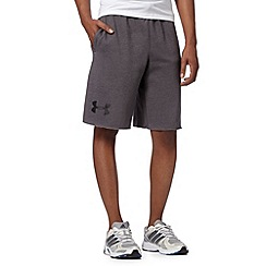 Under Armour - Dark grey 'Legacy' sweat shorts