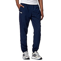 Under Armour - Navy woven cuffed jogging bottoms