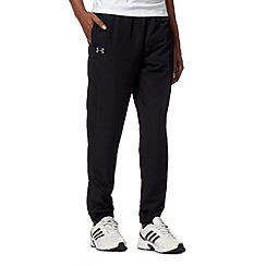Under Armour - Black woven cuffed jogging bottoms
