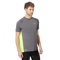 Under Armour - Grey mesh back running t-shirt