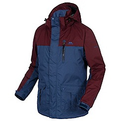 Trespass - Blue harelaw rain jacket
