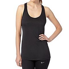 Nike - Black 'Balance' tank top