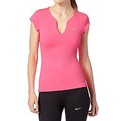 Nike - Bright pink 'Pure' gym t-shirt