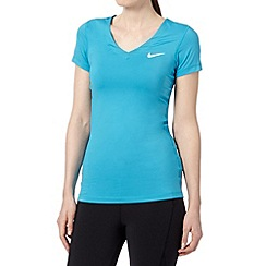 Nike - Light blue pro 'Dri-FIT' t-shirt
