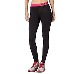 Nike - Black tight 'Dri-FIT' gym tights