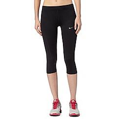 Nike - Black 'Filament' capri pants