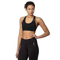 Reebok - Black support sports bra