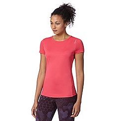 Reebok - Pink mesh back running t-shirt