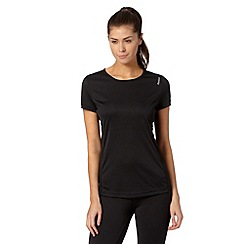 Reebok - Black short sleeved fitness t-shirt