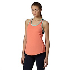 Reebok - Orange sleeveless gym top
