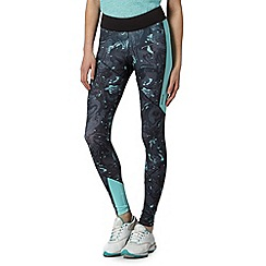 Reebok - Black fitted 'PlayDry' sport leggings