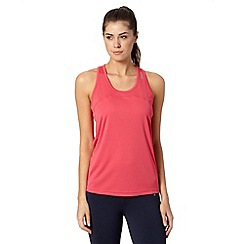 Reebok - Pink 'Playdry' slim fit sports vest