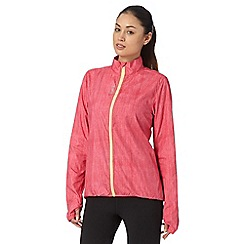 Reebok - Pink zipped wind jacket