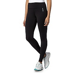 Reebok - Black fitted fitness tights
