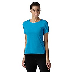 adidas - Blue 'Climachill' sports t-shirt