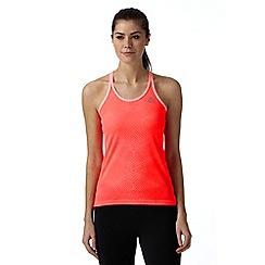 adidas - Coral 'Supernova' mesh sports vest