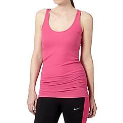 Nike - Pink ribbed sports vest