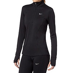 Nike - Black 'Racer' long sleeved running top