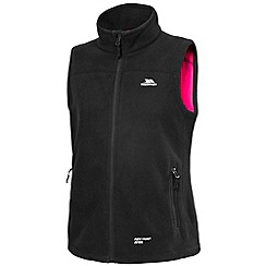 Trespass - Black focussed fleece gilet