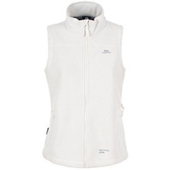 Trespass - Cream focussed fleece gilet