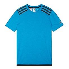 adidas - Boy's blue 'ClimaChill' t-shirt