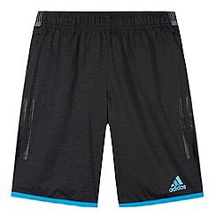 adidas - Boy's black 'ClimaChill' shorts