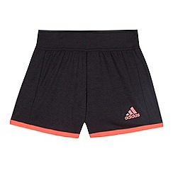 adidas - Girl's black 'Climacool' sports shorts