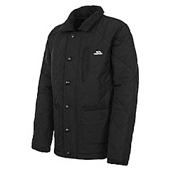 Trespass - Boy's black dakota jacket