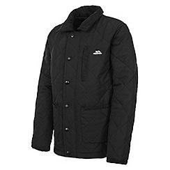 Trespass - Boy's black dakota jacket
