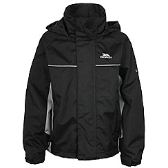Trespass - Boy's black mooki jacket