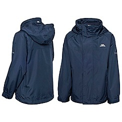 Trespass - Boy's navy skydive jacket